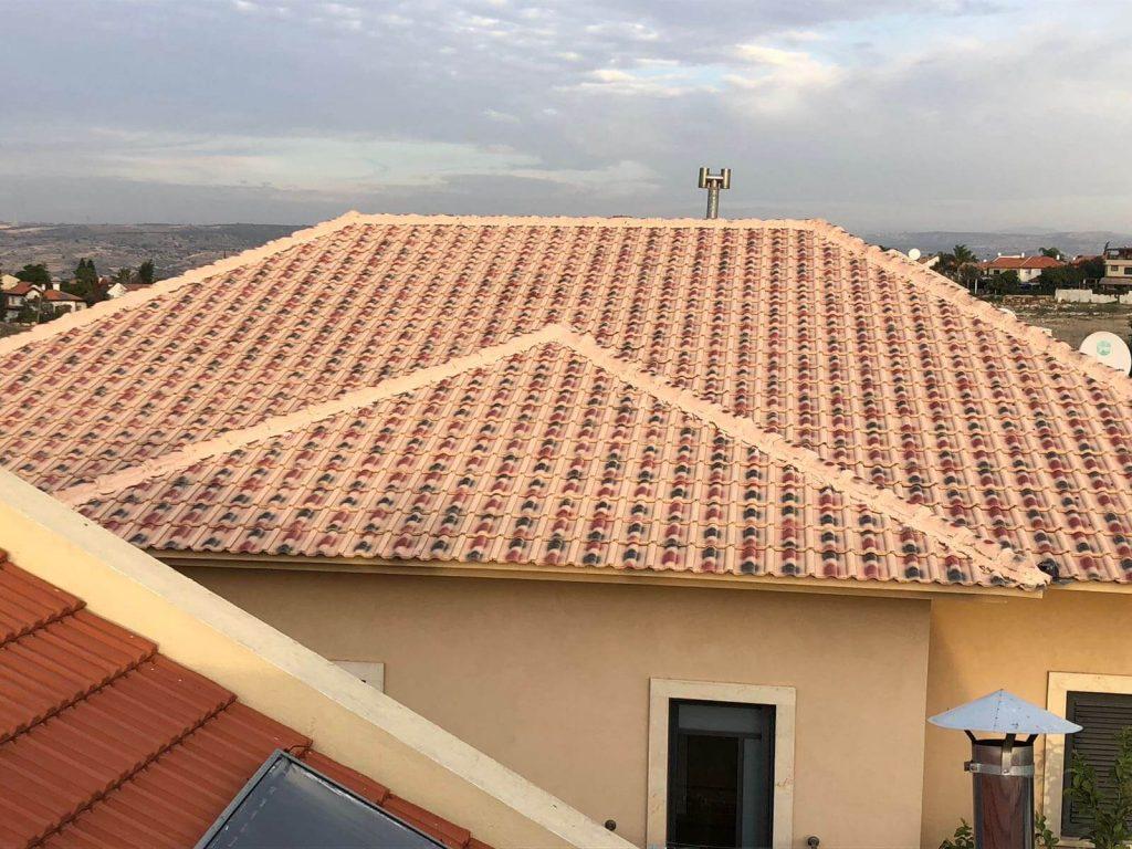 תיקון גגות רעפים קדימה צורן